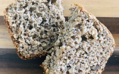 Pain santé aux noix et aux graines